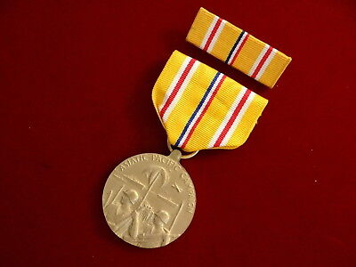 WWII Asiatic Pacific Campaign Medal with Ribbon Bar Set, WW2, World War II
