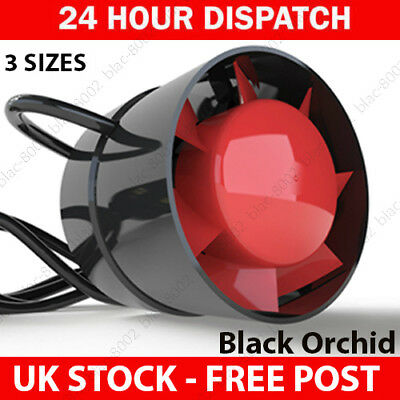 Black Orchid Eco Duct 4 5 6 Inch Inline Extraction Fan Hobby Hydroponics