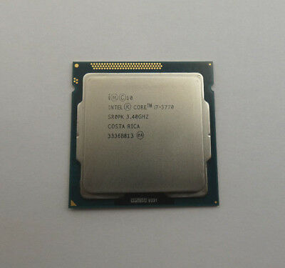 Intel Core i7-3770  3.40GHz  SR0PK  CPU  Sockel 1155