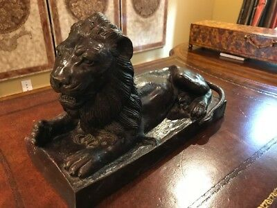 Maitland Smith bronze lion