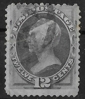 US Stamps Collection Scott#151 12c Used CV$220 with Fault