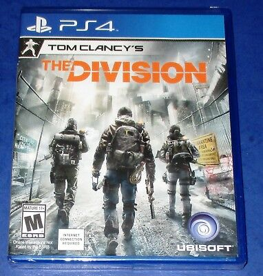 Tom Clancy's The Division PlayStation 4 *New! *Sealed! *Free Shipping!