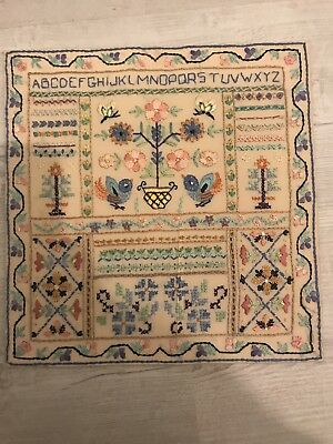 Tapestry Sampler Possibly Old/Antique