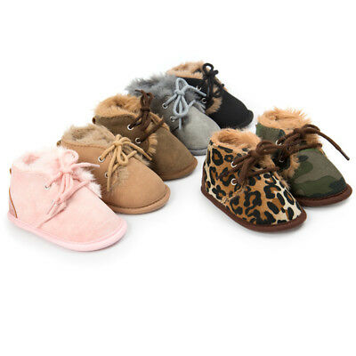 Winter Warm Shoes Baby Shoes Toddler Boys Girls Kids Cotton Casual Boots