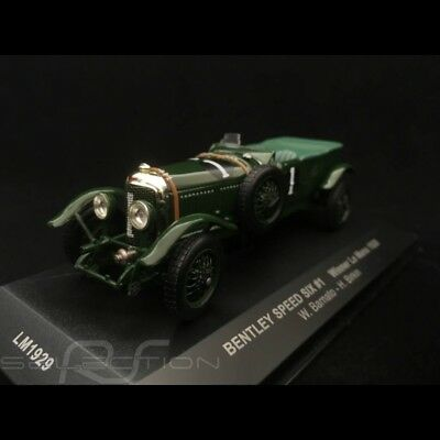 Bentley Speed Six vainqueur Le Mans 1929 n° 1 Barnato 1/43 IXO LM1929