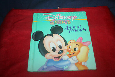 Vintage Collectible Disney Babies Book Animal Friends
