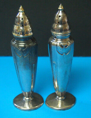 Poole Silver Co. Silverplateplate Salt & pepper shakers
