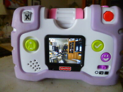 FISHER-PRICE-KID-TOUGH-SEE-YOURSELF-CAMERA-VIDEO-4X-ZOOM-TAKE-1300-PICS or VIDEO