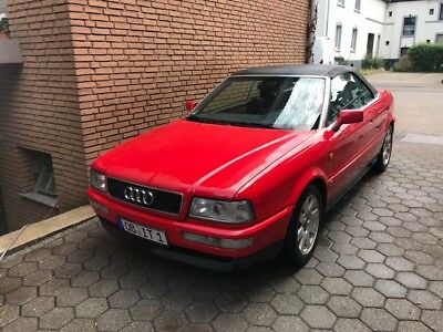 Audi 80 Cabriolet 2.0 (8G) Rot