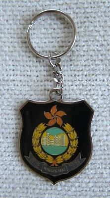 Hong Kong Police Force 6 Color Enamel Key Chain - New