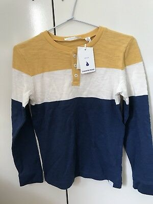 Country Road Boys Size 10 Henley BNWT