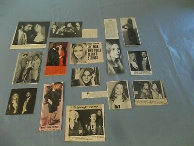 Peggy Lipton   lot of  clippings  #CE
