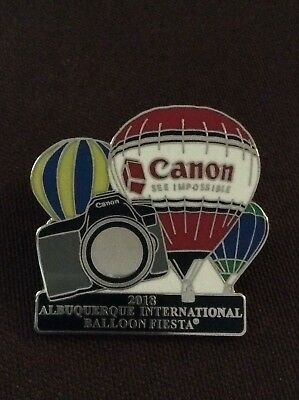 2018 Canon Official AIBF Sponsor Albuquerque Balloon Fiesta Pin