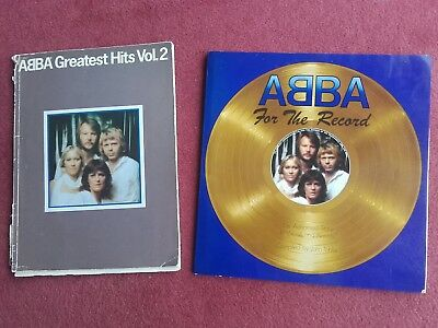 "ABBA ""For The Record"" The Authorised Story~ Words & Pictures Book By John Tobler"