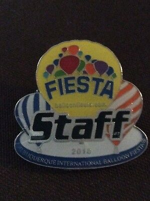 2018  Official AIBF Staff  Albuquerque Balloon Fiesta Pin