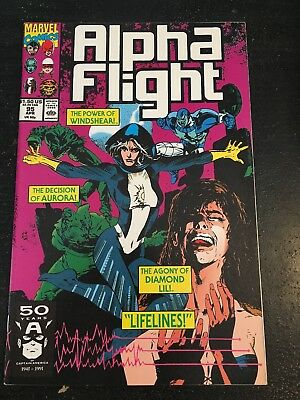 Alpha Flight#95 Incredible Condition 9.0(1991) Windshear,Aurora,Diamond Lil