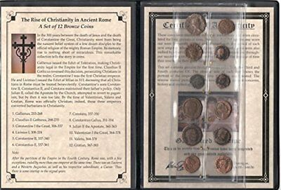 Roman Coins 12 Ancient Collection. Certified Authentic Biblical Coins