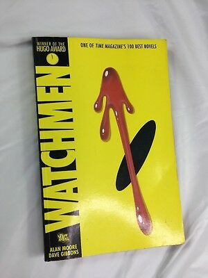 Watchman by Alan Moore and Dave Gibbons, Hugo Winner DC Comics ( Very Good )