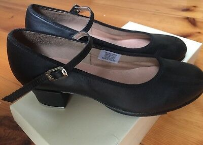Bloch women's leather tap shoes show-tapper black size 7.5