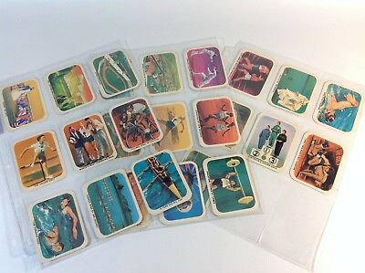 Full set Nabisco Vita Brits 1962 VII Commonwealth Games Cards