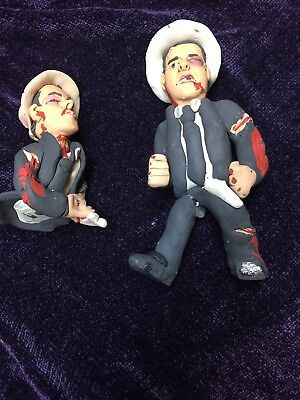 Abbott  And Costello Celebrity Death Match? Clay Figures