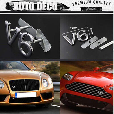 3D Metal Silver AMG Logo Car Auto Truck Front Hood Grille Grill Badge Emblem