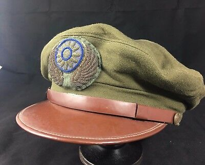 Ww2 Chinese Air Force Officer Hat