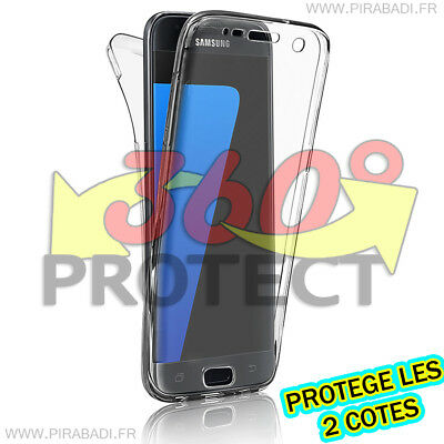 Case Cover 360° Clear Full Tpu Gel Silicone Tactile Samsung Galaxy A5