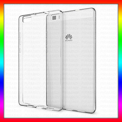 Case Cover Silicone Shell Transparent For Huawei P8