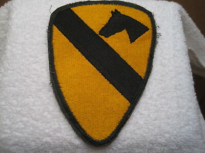 Us Army Vietnam War 1St Air Cavalry Authentic Real Deal Worn Original Patch