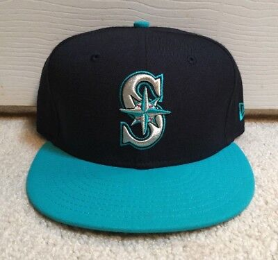 huge discount 18b69 5fc7e ... shopping seattle mariners new era fitted hat 7 3 8 vintage throwback  alternate cap mlb ds