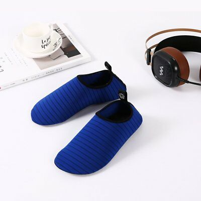 Stripe Anti-slip Fitness Shoes Quick-dry Lightweight Men Beach Diving Shoes VY