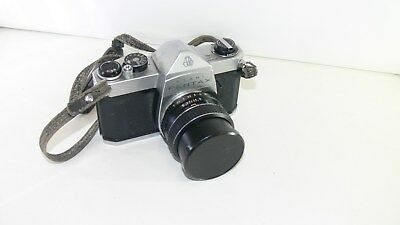 Vintage Pentax Asahi SP 1000 Film Camera Takumar Lens, in case