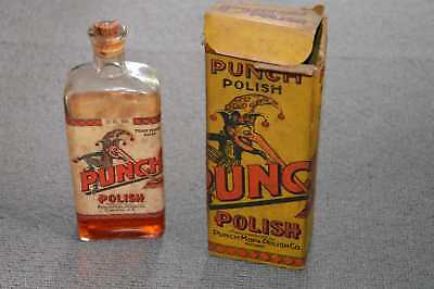 Australian Vintage Punch Polish in Box - 1920's.