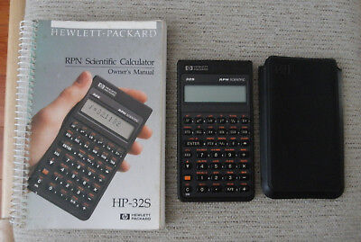 hp 32s rpn scientific calculator with case and manual tested ex rh picclick com HP- 42S HP 35s Programs