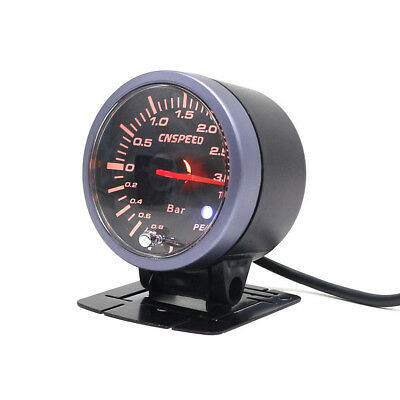 "2.5"" Turbo Boost Gauge Vehicles Aluminum Reliability Backlight Universal LED"