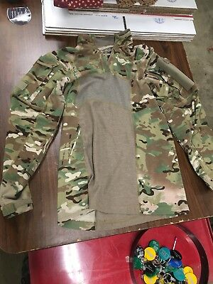Nwt- Army Issued Defender M Flame Resistant Multi-Cam Combat Shirt - Size M