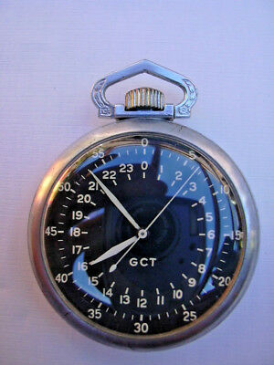 "Beobachtungsuhr ELGIN  (""Hack-Watch"")"