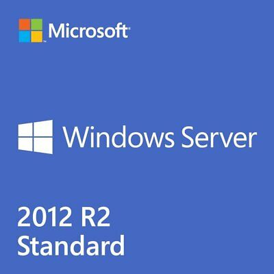 Windows Server 2012 R2 Standard 32 & 64 bit