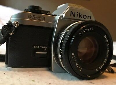 Nikon Vintage 35mm Film Camera Nikon Vintage FG-20 Camera