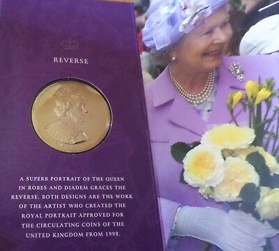 HER Majesty Queen Elizabeth II Golden Jubilee, United Kingdom Crown 2002, Münze