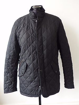 Barbour Men's Chelsea Sportsquilt Jacket - Black M (1687)