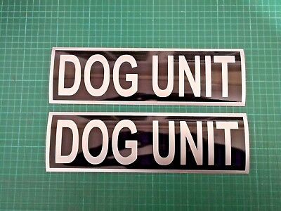 DOG UNIT Magnet K9 Handler Car Door Magnets Search & Rescue SIA 300x90mm