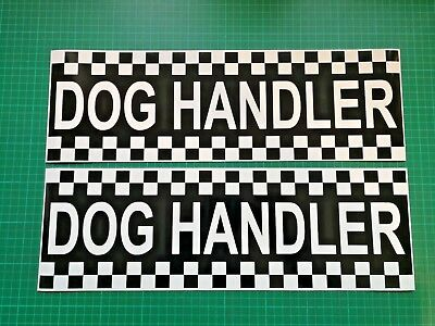 Dog Handler Magnet Battenberg Security K9 Unit K9 UNIT Magnetic Car Door SIA x2