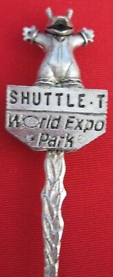 Collectable Spoon - Shuttle-T, World Expo Park