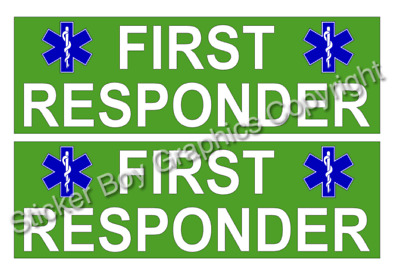 PARAMEDIC Magnet Chevron Magnetic Sign First Responder Event Medic First Aid x1