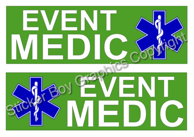 Battenberg MAGNETIC Medic First MAGNET Ambulance Paramedic Star of life PACKAGE
