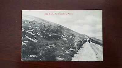 Lagg Road, Blackwaterfoot, Arran - postcard