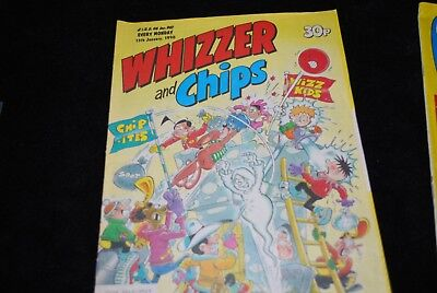 Whizzer and Chips comic 1990 january