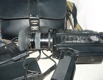 Vintage Chinon 200/12 XL Pacific Movie Camera Made in Japan